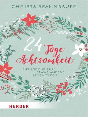 cover image of 24 Tage Achtsamkeit