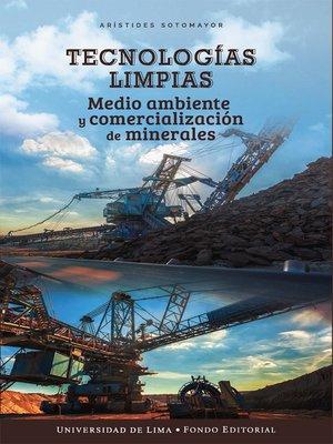 cover image of Tecnologías limpias