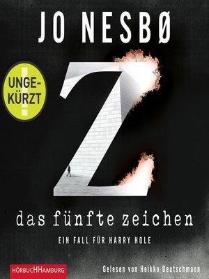 cover image of Das fünfte Zeichen