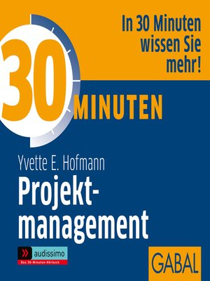 cover image of 30 Minuten Projektmanagement