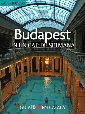 cover image of Budapest. En un cap de setmana