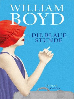 cover image of Die blaue Stunde