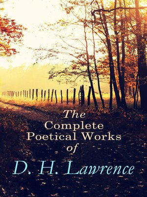 cover image of The Complete Poetical Works of D. H. Lawrence