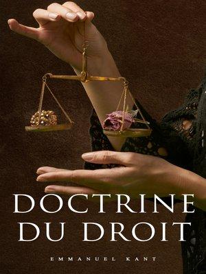 cover image of Doctrine du droit