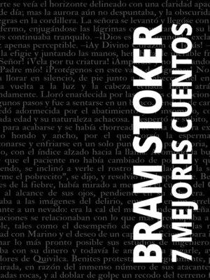 cover image of 7 mejores cuentos de Bram Stoker