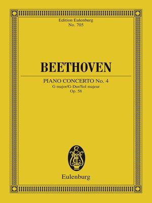 cover image of Piano Concerto No. 4 G major