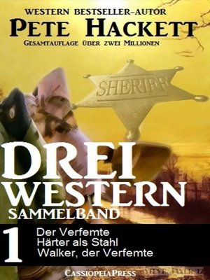cover image of Drei Western--Sammelband 1