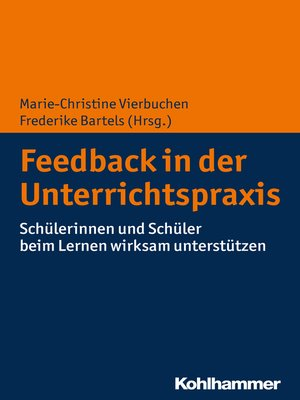 cover image of Feedback in der Unterrichtspraxis