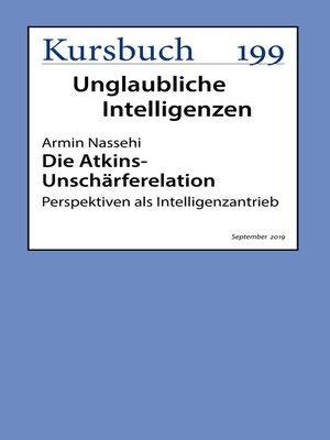 cover image of Die Atkins-Unschärferelation