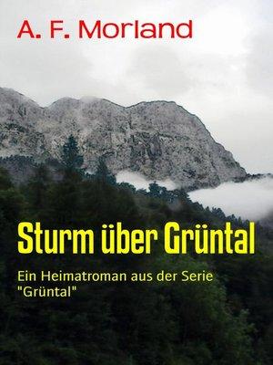 cover image of Sturm über Grüntal