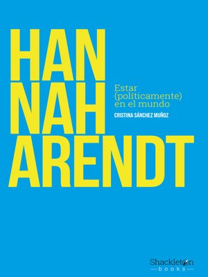 cover image of Hannah Arendt