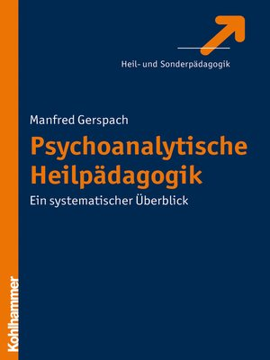 cover image of Psychoanalytische Heilpädagogik