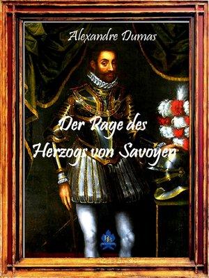 cover image of Der Page des Herzogs von Savoyen