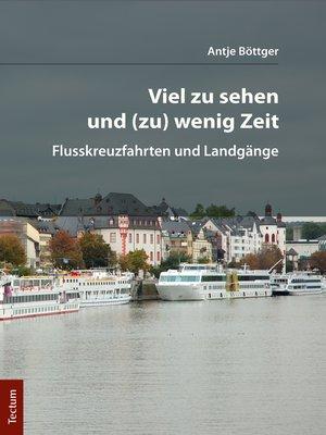 cover image of Viel zu sehen und (zu) wenig Zeit