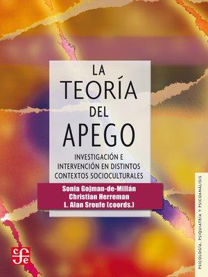 cover image of La teoría del apego