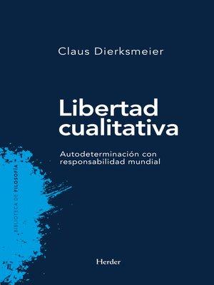 cover image of Libertad cualitativa