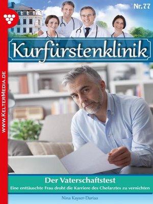 cover image of Kurfürstenklinik 78--Arztroman