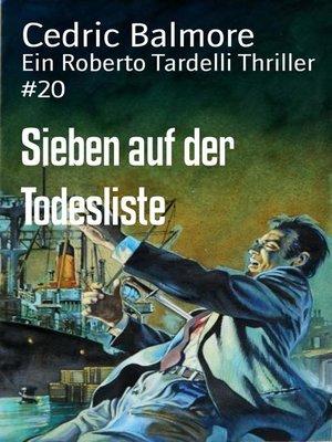 cover image of Sieben auf der Todesliste