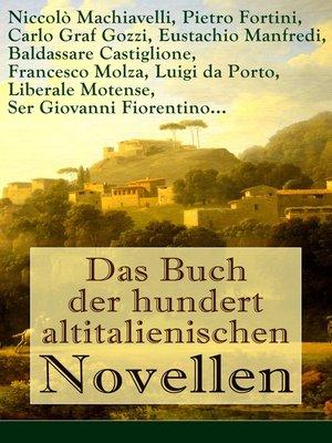 cover image of Das Buch der hundert altitalienischen Novellen