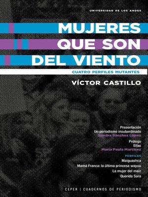 cover image of Mujeres que son del viento