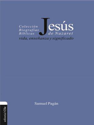 cover image of Jesús de Nazaret