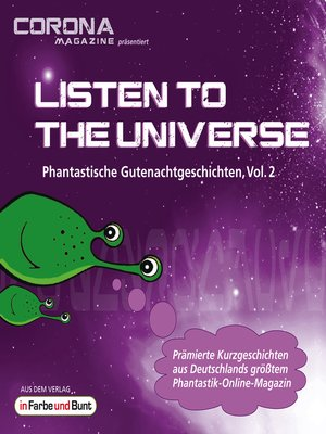 cover image of Listen to the Universe--Phantastische Gutenachtgeschichten, Volume 2