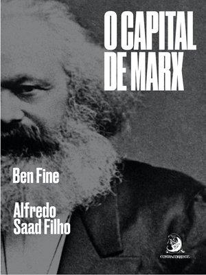 "cover image of ""O Capital"" de Marx"