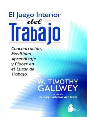 cover image of El juego interior del trabajo