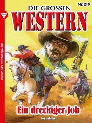 cover image of Die großen Western 219