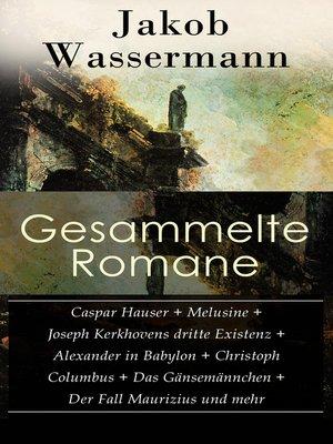 cover image of Gesammelte Romane