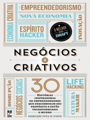 cover image of Negócios criativos