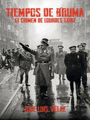 cover image of Tiempos de bruma