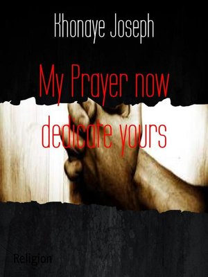 cover image of My Prayer now dedicate yours
