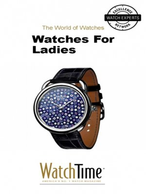 cover image of Watches For Ladies