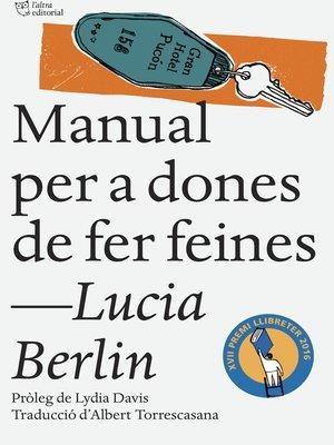 cover image of Manual per a dones de fer feines