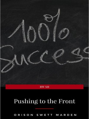 cover image of Pushing to the Front