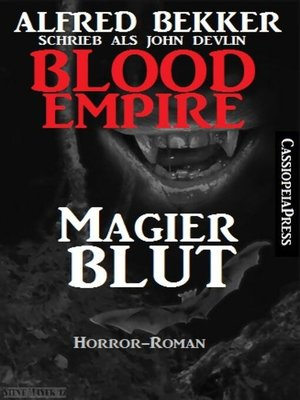 cover image of Blood Empire--Magierblut