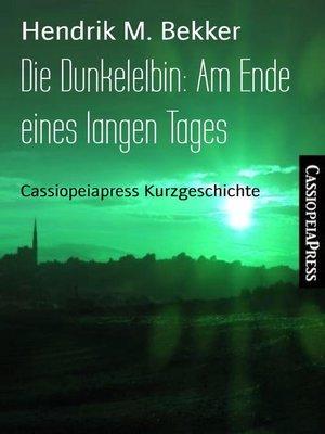 cover image of Die Dunkelelbin