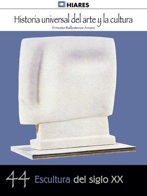 cover image of Escultura de siglo XX