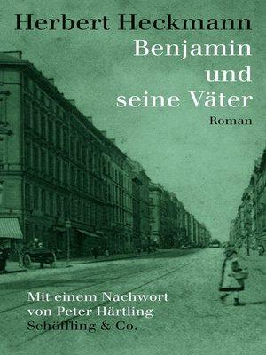 cover image of Benjamin und seine Väter