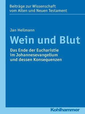 cover image of Wein und Blut