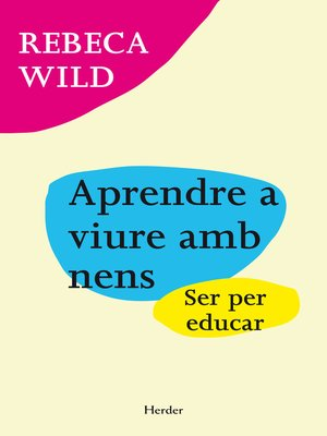 cover image of Aprendre a viure amb nens