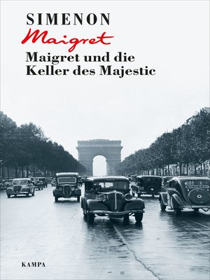 cover image of Maigret und die Keller des Majestic