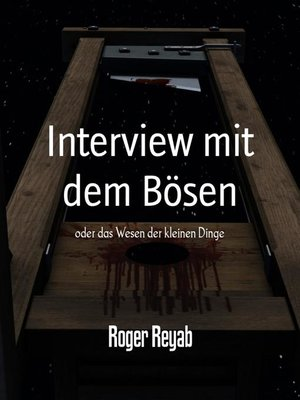 cover image of Interview mit dem Bösen
