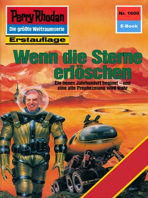cover image of Perry Rhodan 1600