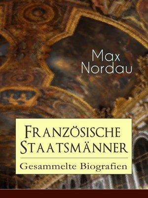 cover image of Französische Staatsmänner