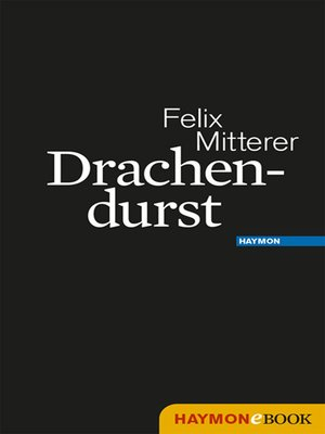 cover image of Drachendurst