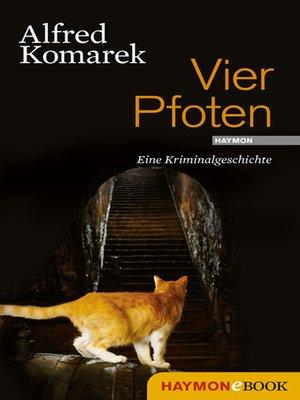 cover image of Vier Pfoten