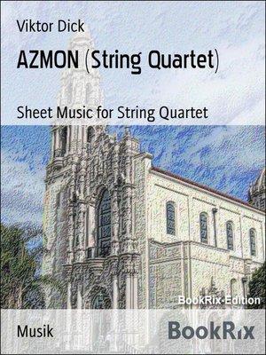 cover image of AZMON (String Quartet)