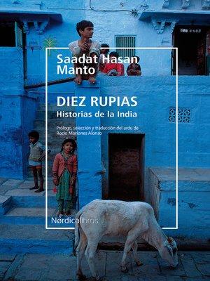cover image of Diez rupias. Historias de la India